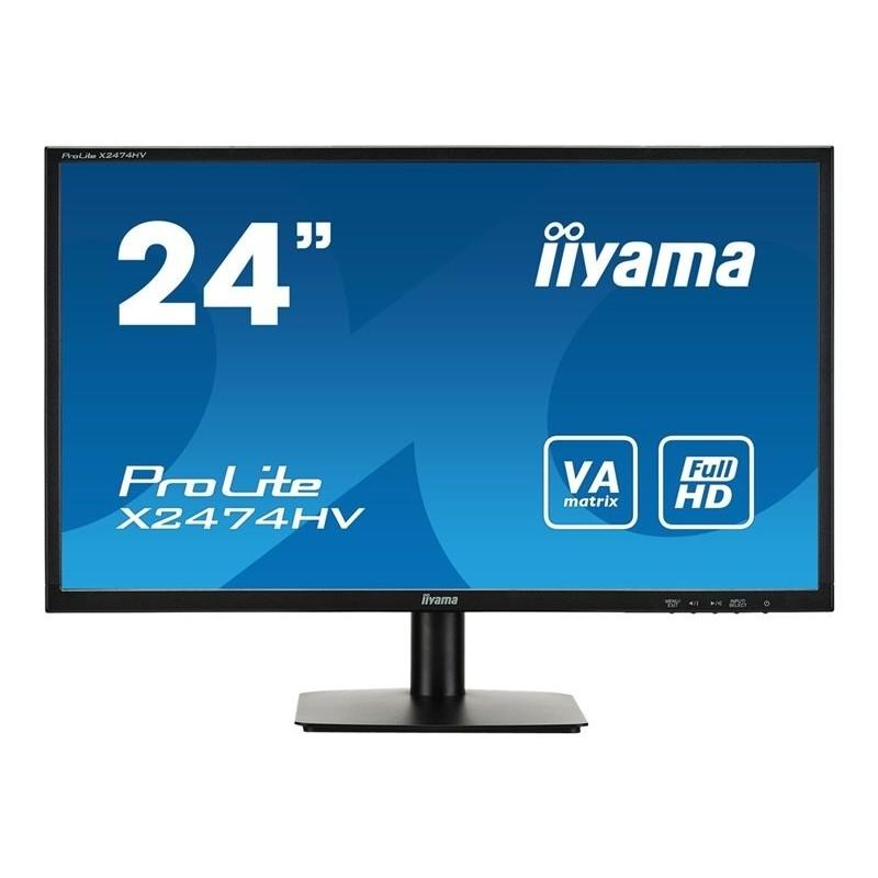 24 pouces iiyama X2474HV-B1