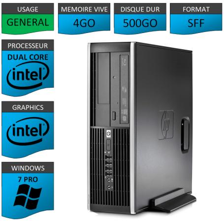 HP Elite 8300 4Go 500Go W7P