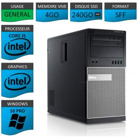 Dell Optiplex 990 TOUR 4Go SSD240 Windows 10