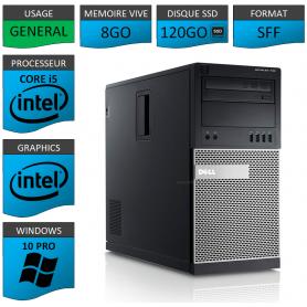 Dell Optiplex 990 TOUR 8Go SSD120 Windows 10