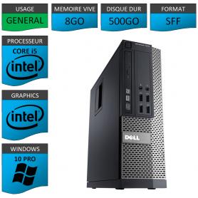 Dell Core i5 8Go 500Go Windows 10 Pro