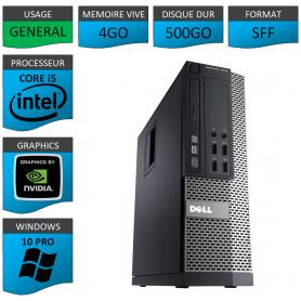 Dell Core i5 4Go 500Go Windows 10 Pro Geforce
