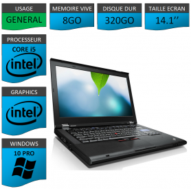 Thinkpad T420 Core i5 8Go 320Go Windows 10