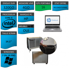 Classe Mobile 16 Ordinateurs Portables HP Core i5 14.1''