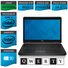 DELL Latitude e5440 Windows 10 CLAVIER QWERTY