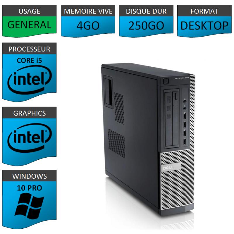 Ordinateur i5 DELL Windows 10