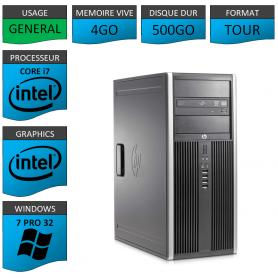 HP Elite Core i7 4Go 500Go W7P32