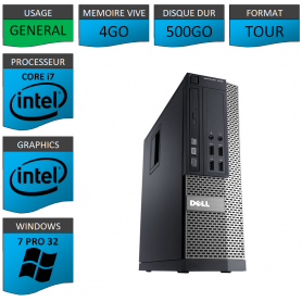 Ordinateur i7 DELL