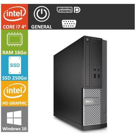 Optiplex 9020 ultra performant core i7 16 go memoire