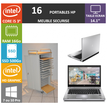 Classe Mobile 16 HP Core i5 14.1'' 16Go SSD 500