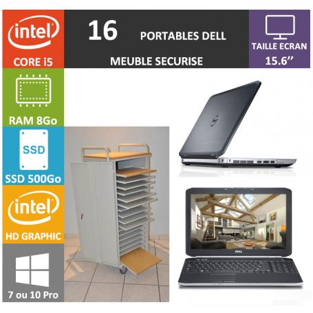 Classe Mobile 16 DELL Core i5 15.6'' 8Go SSD 500