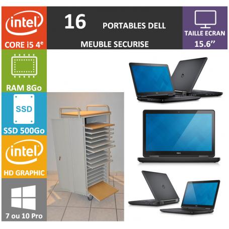 Classe Mobile 16 DELL Core i5 15.6'' 8Go SSD 240 e5540