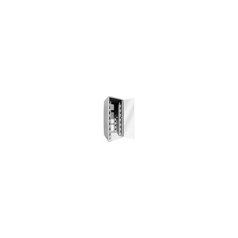 Baie réseau 800 x 800 22U grise