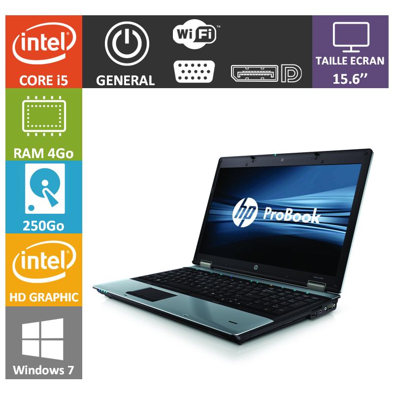 HP Probook 6550b - www.portables.org