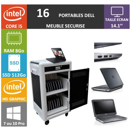 Classe Mobile 16 DELL Core i5 14.1'' 8Go SSD 512 HDMI