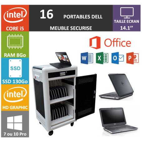 Classe Mobile 16 DELL Core i5 14.1'' 8Go SSD 130 HDMI OFFICE