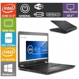 Dell latitude e7450 i5 8Go SSD250 W7P