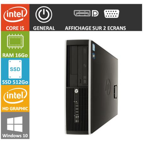 LOT 50 PC HP Core i5 16Go 512Go SSD W10Pro