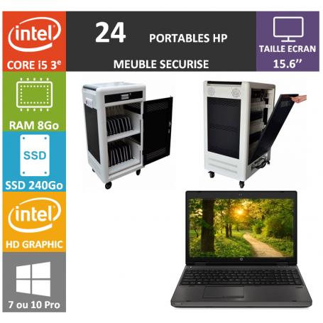 Classe Mobile 24 HP Core i5 15.6'' 8Go SSD 240