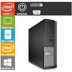 Dell Optiplex 990 SFF Core i7 8Go 128SSD