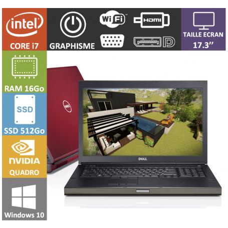 Dell Precision M6700 16Go Nvidia Quadro K3000M