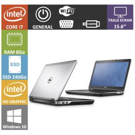 DELL Latitude 15.6'' i7 8Go SSD240Go