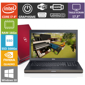 dell precision Core I7 16Go SSD512Go Quadro K 4Go