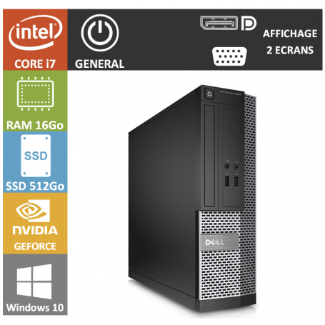 PC DELL IDEAL GRAPHISME FAIBLE ENCOMBREMENT