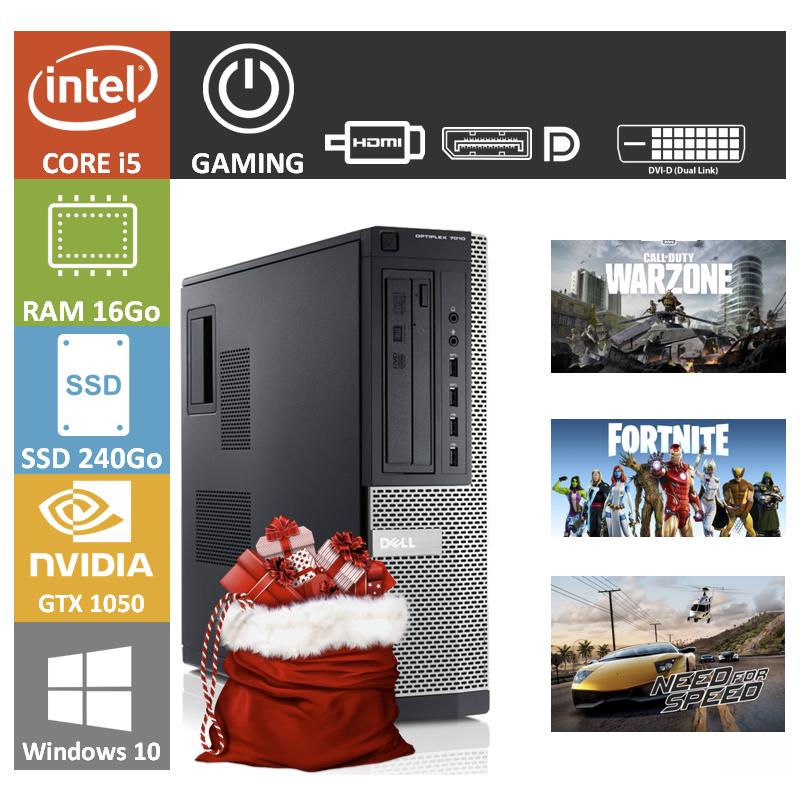 PC Gamer DELL GTX 1050