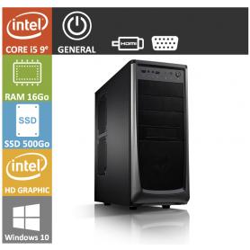 PC NEUF Core i5 16Go SSD500Go Windows 10 Pro