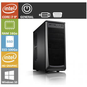 PC NEUF Core i7 16Go SSD500Go Windows 10 Pro