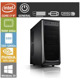 PC NEUF Core i7 16Go SSD500Go GTX1050 Windows 10 Pro