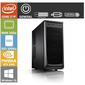 PC NEUF Core i7 16Go SSD500Go GTX1060 Windows 10 Pro