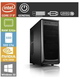 PC NEUF Core i7 32Go SSD1000Go GTX1050 Windows 10 Pro