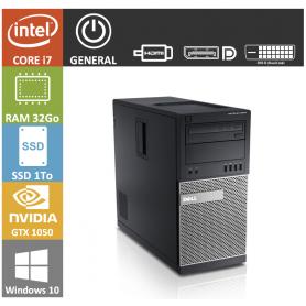 DELL Optiplex Core I7 GTX 1050 G1 Gaming 4Go