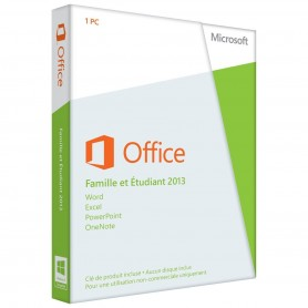 OFFICE 2013 Famille et Etudiant - Home And Student