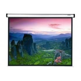 Ecran manuel à enroulement contrôlé 1:1 198 x 198 cm