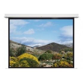 Ecran électr encastr pour faux-plafond integra 1:1 220x220cm